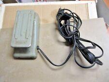 Kenmore 6812 Sewing Machine Controller METAL 1 AMP Foot Pedal 3-PIN TERMINAL