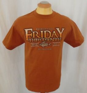 Friday 13th Port Dover May 2011 Large Cotton Brown T shirt