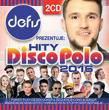 Defis prezentuje: Hity Disco Polo 2016 (CD 2 disc) NEW