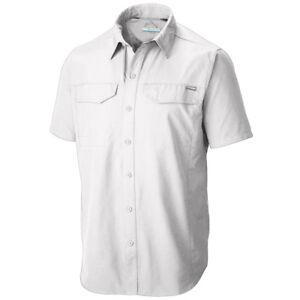 "New Mens Columbia ""Silver Ridge"" Vented Omni-Wick Short Sleeve Shirt"