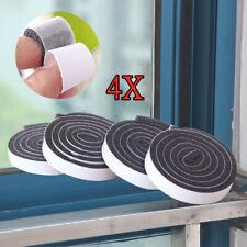 4X Foam Draught Excluder Weather Seal Strip Insulation Door Window Tape