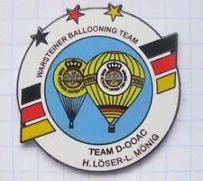 D-OOAC LÖSER MÖNIG  / WARSTEINER BALLOONING TEAM  ... Bier-Ballon-Pin (126i)