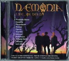 DAEMONIA LIVE... OR DEAD  C.Simonetti Profondo Rosso/Suspiria/Tenebre CD SEALED