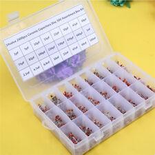 24value 2400pcs Ceramic Capacitors Disc 50V Assortment Box Kit Free Shipping
