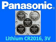 **Save $1, Buy Any 2 Packs** 5 pieces Panasonic CR2016 3v, Coin battery