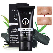 New Face Mask Nose Blackhead Acne Pore Deep Remover Cleansing Strip Black Mud