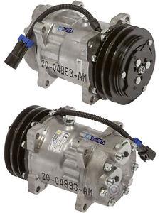A/C AC Compressor Replaces: Sanden 4717, 4777, 4893 Volvo 8082270 MACK 85104592