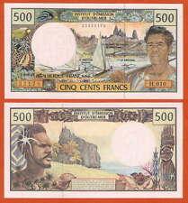 P1d   French Pacific Territories  500 Francs  1992   UNC