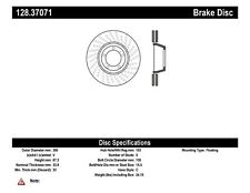 Disc Brake Rotor-GT3 Front Right Centric 128.37071 fits 10-11 Porsche 911