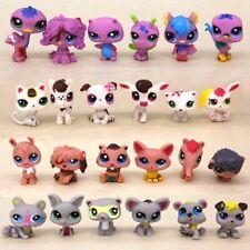 24pcs Hasbro Littlest Pet Shop LPS Rare Cute Animal Fox Puppy Dogs Cats Kids Toy