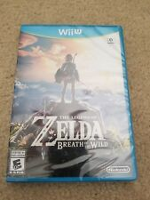 Legend of Zelda: Breath of the Wild (Nintendo Wii U) Brand New