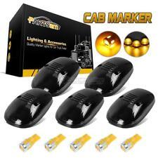 5xSmoke Cab Marker Light Lens+168 6-5730 Amber LED for Dodge Ram 2500/3500 99-02