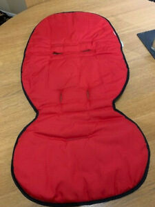 BRAND NEW PHIL & TEDS Buggy Liner - cushy ride in red or black reversible
