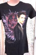 Twilight Breaking Dawn Edward Black T-Shirt- Size MED- FREE S&H (TWTS-008)