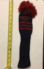 Perfect Club Knitted Golf Club Cover- Red, 13 Inches