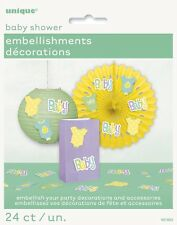 Baby Shower Party Embellishments Decorations Unisex Pack of 24