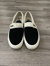 FEAR OF GOD VANS SLIP-ON 47 DX BLACK/WHITE sz 9