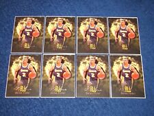 DEREK FISHER LAKERS 1996-97 ULTRA ALL-ROOKIES LOT OF 8 FROM UNCUT SHEETS (INSY)