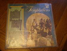 The Temptations LP Gettin Ready UK BACKFLAPS