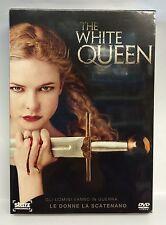 THE WHITE QUEEN - 4 DVD - 10 EPISODI - COFANETTO DVD - NUOVO