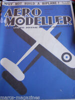 AEROMODELLER 1937 JANUARY 14TH ISSUE FACSIMILE MODEL AIRCRAFT AVIATION