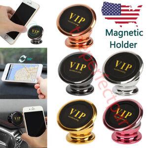 360 Degree Magnetic Car Dash Mount Ball Dock Holder For Phone Tablet Universal