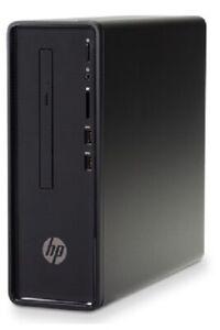 HP Slimline Desktop 290-a0002a Quad j5005 16GB 120GSSD 1TB WIFI HDMI W10/OFFICE
