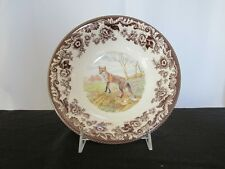 """Woodland """"Red Fox"""" Soup/Cereal Bowl"""