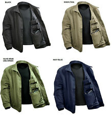 Concealed Weapons Carry Jacket Army Navy USAF Police Security Coat Gun