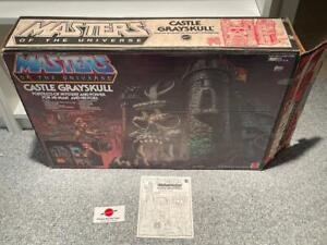 1982 Castle Grayskull 100% Complete With Box Vintage MOTU Playset