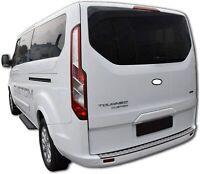 Ford Transit Custom Tourneo CHROME Rear Bumper Protector Scratch Guard for 2013