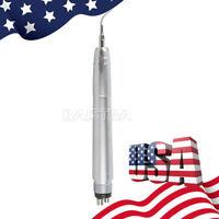 【USA】Dental Ultrasonic Air Perio Scaler Handpiece Hygienist 4Hole 3Tips G1 G2 P1
