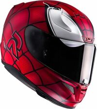 L Large HJC RPHA 11 Pro Spiderman Helmet Marvel Full Face Road Racing