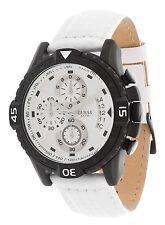 GUESS Hommes Montre-bracelet chronographe blanc w18547g2