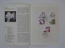 (01j43) Bund Erinnerungsblatt 2001 ESST Mi.Nr. 2218-2222 Wohlfahrt Schauspieler