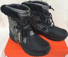 """Bearpaw Bethany 1845W Wool Blend Sheepskin Waterproof 6"""" Winter Boots Women's 5"""
