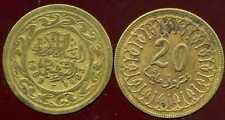 TUNISIE TUNISIA 20 milim 1983   ( ca )