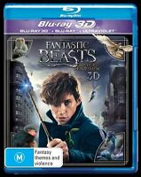 Fantastic Beasts and Where to Find Them 3D : NEW 3D Blu-Ray