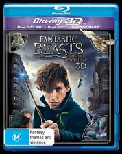 Fantastic Beasts (2-Disc Set) NEW 3D + 2D Blu-Ray