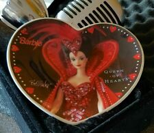 Barbie Mini collectors Plate Heart Shaped Queen Of Hearts By Bob Mackie Enesco