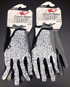Lizard Skins Monitor 3.0 Gloves White/Gray New