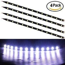 Car Interior Atmosphere Lamp Footwell Floor Light 4 Pcs 15LED White Super Bright