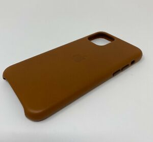 Apple Leather Case for iPhone 11 Pro and iPhone X/Xs - Brown (MWYD2ZM/A)