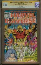 Official Handbook of the Marvel Universe v2 #20 CGC 9.8 Signature Series