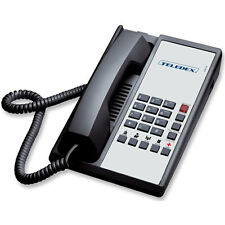 Teledex Diamond+5 Hotel Hospitality Telephone DIA651391 Black