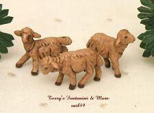 "Fontanini Depose Italy Retired 2.5"" Series 3 Sheep Nativity Village Animals New"