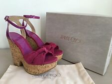 Jimmy Choo High (3-4.5 in.) Suede Shoes for Women