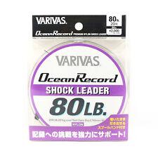 Varivas Ocean Record Nylon Shock Leader Ligne 50m 80lb (9761)