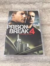 Prison Break DVD Fourth Season 4 Good Condition 6 Disc Set Rare OOP