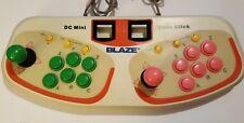 Blaze DC Mini Twin Arcade Fight Stick for Sega Dreamcast TESTED